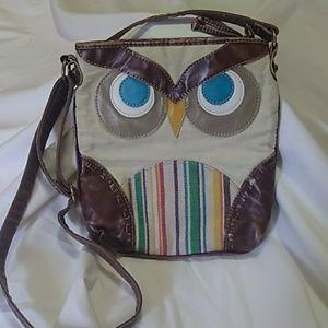 Handbags - Owl face crossbody bag